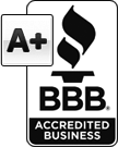 BBB-A+ Accredited Business