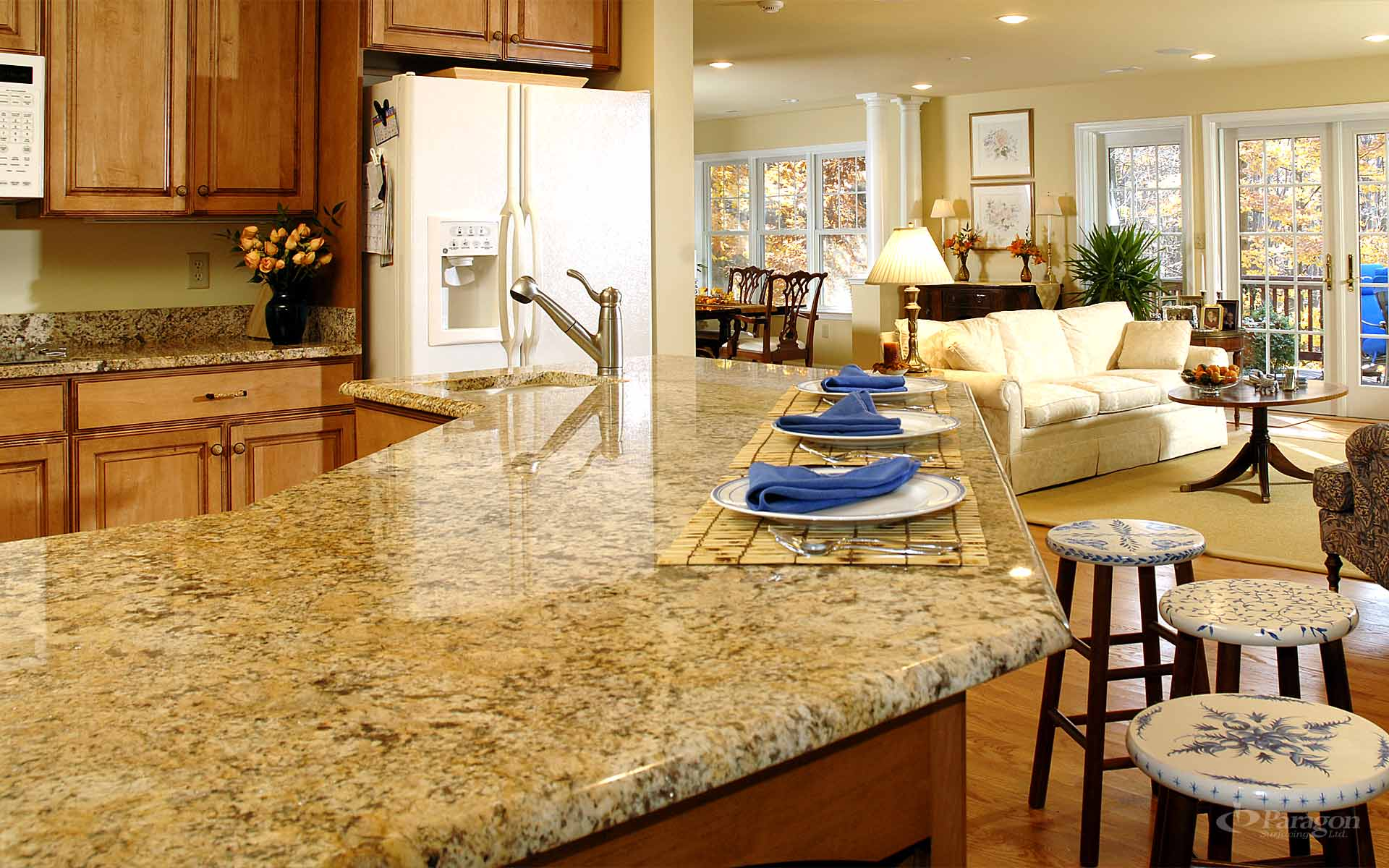 Popular Granite Countertop Configurations Orlando: Granite Countertops Vancouver Natural Stone Richmond BC
