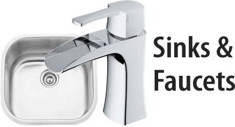 Kitchen, Bathroom Sinks and Faucets